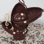 Sujet en chocolat 10